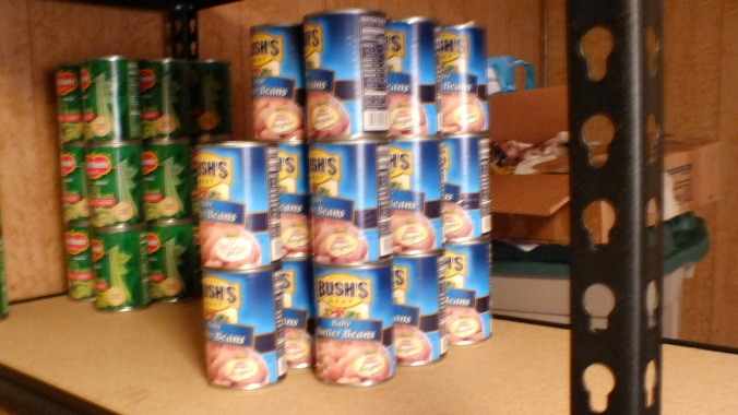 More canned goods